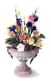 Urn With Mixed Flowers