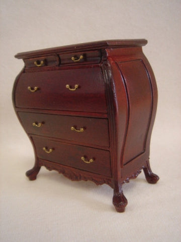 Feranze Bombe Chest, Mahogany