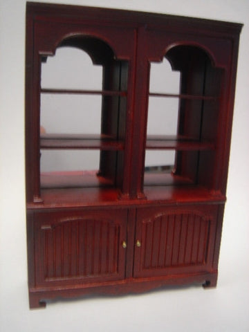 Store Display Shelves, Mahogany