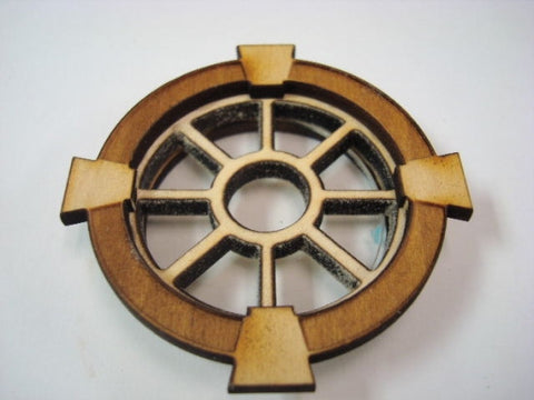 Window, Round with Special Trim