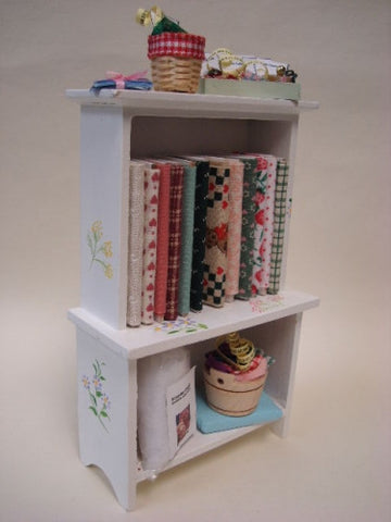 Sewing Shelves, White