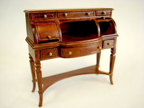Ladies Desk, New Walnut Finish