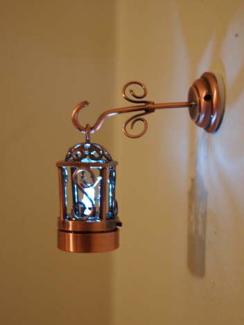 Coach Lamp, Copper, Hanging Style