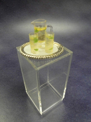 Beverage Tray, Mint Julip Set