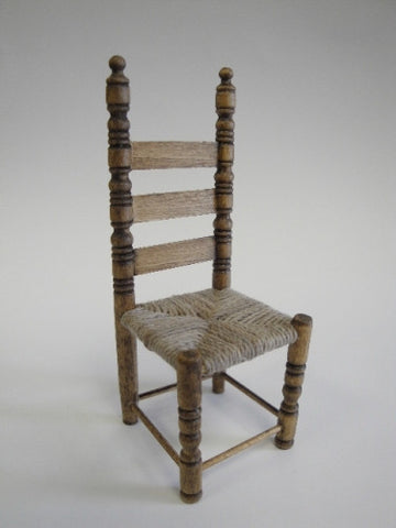 Chair, Ladder Back, Rush Seat