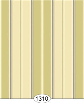 Broad Stripe, Ivory, Wallpaper