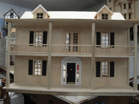 The Satterfield Assembled Unpainted Model