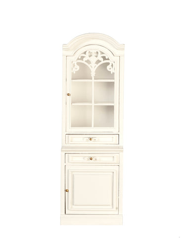 Formal Kitchen Single Cabinet, Left Side,  White Finish