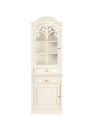 Formal Kitchen Cabinet, Right Side, White
