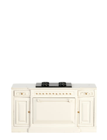 Formal Kitchen Range, White