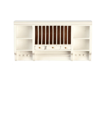 Formal Kitchen Upper Cabinet, White
