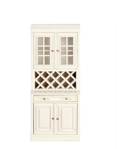 Formal Kitchen Cabinet, Large, White