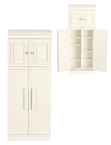 Formal Kitchen Refrigerator, White