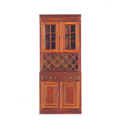 Formal Kitchen Cabinet, Large, Walnut