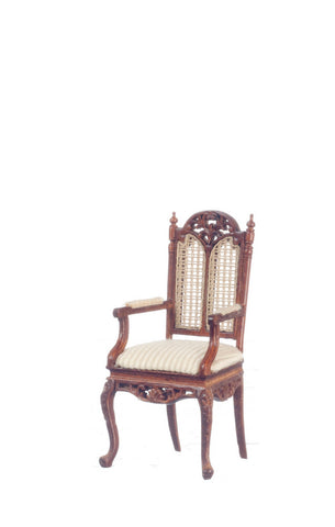 Barrington Arm Chair, Walnut Finish