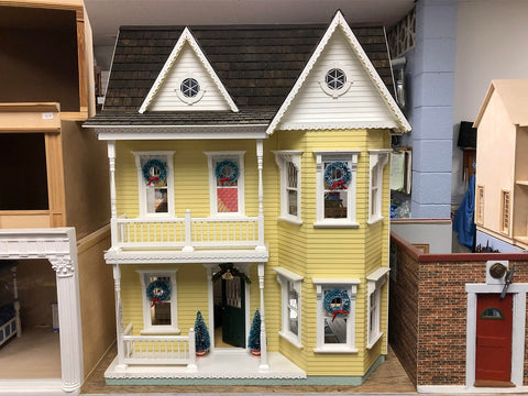 Princess Anne Fully Finished Dollhouse, Second Hand