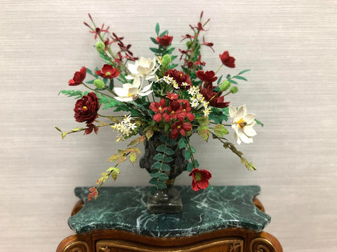 Christmas Floral Arrangement by Paula Gilhooley