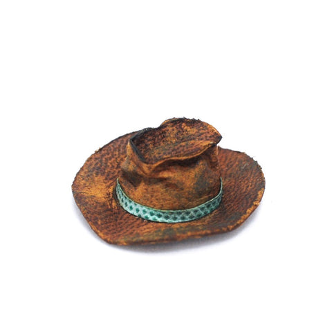 Cowboy Hat, Rugged with Blue Band