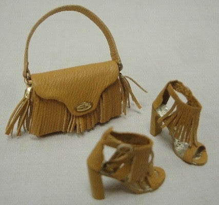 Handbag and Heels with Fringe by Patrizia Santi SOLD OUT