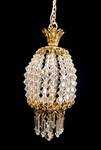 Parlor Ceiling Fixture with Swarovski Crystals Style No. 30