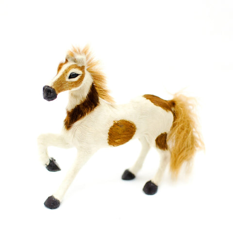 Pony, Brown and White