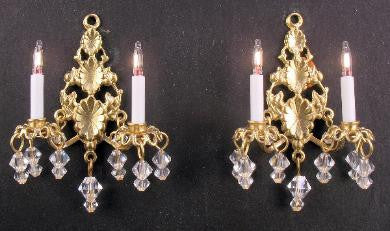 Princess Abigail Sconces, Pair