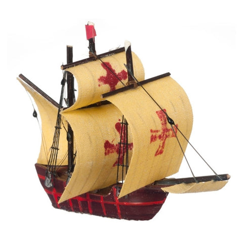 Miniature Pirate Ship