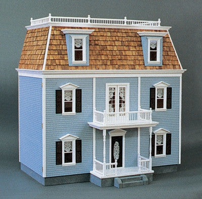 Front-Opening Federal Dollhouse Kit, Milled MDF DISCONTINUED