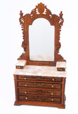 Ri Mauldie Bedroom Set, Pink Marble