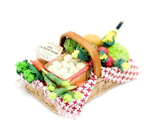 Basket of Fresh Produce Style A