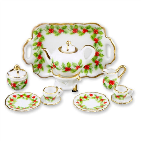 Mistletoe Tea Service for Two by Reutter