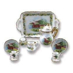 Wild Duck Coffee Service by Reutter ON SALE