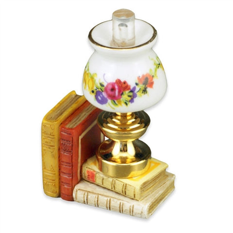 Reutter Lamp and Book Set