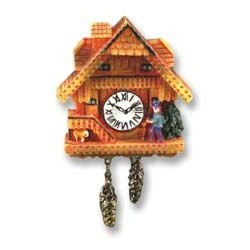Fancy Black Forest Cuckoo Clock, Non Working