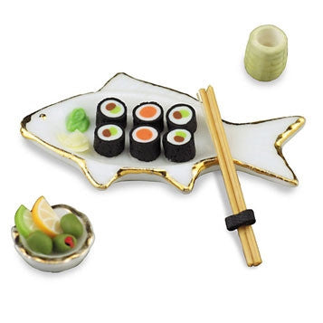 Fish Sushi Set by Reutter