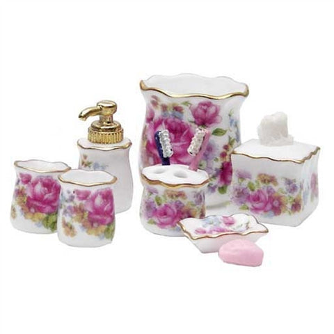 Dresdan Rose Bath Accessories