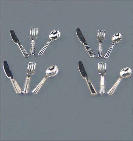 Reutter Silver Cutlery Set, Four Place Settings