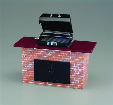 Barbecue Grill, Brick style by Reutter, Empty