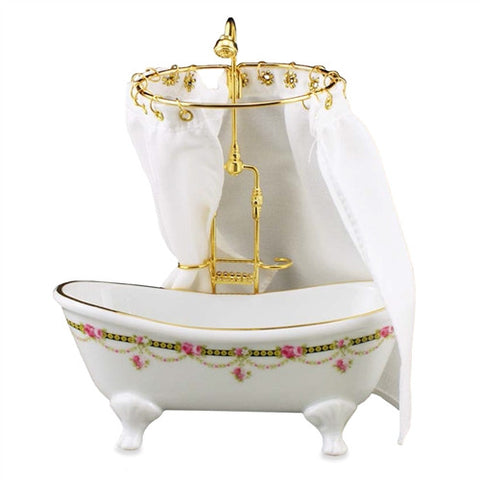 Victorian Rose Tub and Shower