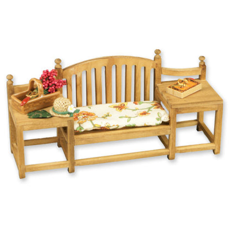 Reutter Garden Bench with Accessories