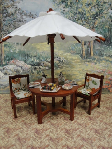 Reutter Umbrella Table and Chair Set 20% OFF!