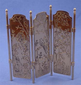 Room Divider, Brass