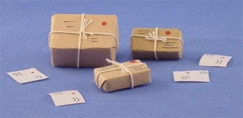 Set of Mailing Packages