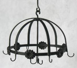 Round Pot Rack by J. Getzan