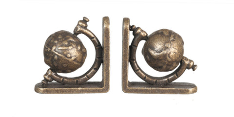 Bookends, Bronze Globes
