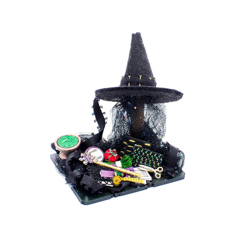 Witches  Sewing Set with Hat