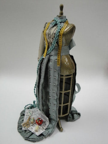 Dress Form, Victorian, Colors may vary