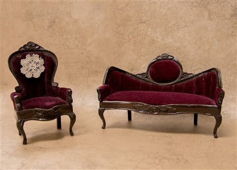 Sonia Messer Victorian Living Room Set SOLD