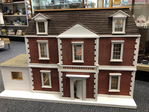 Second Hand Georgian Brick Dollhouse