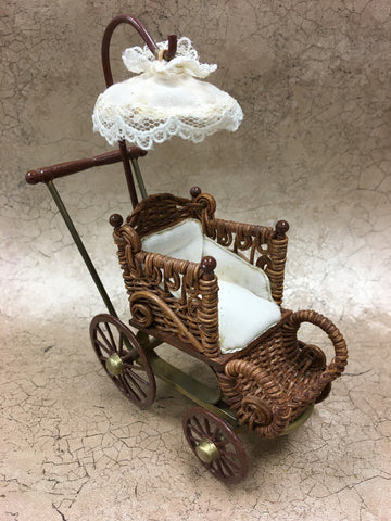 Vintage Wicker Pram SOLD